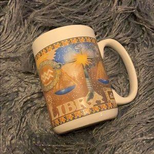 Vintage Zodiac Horoscope Libra Mug VTG